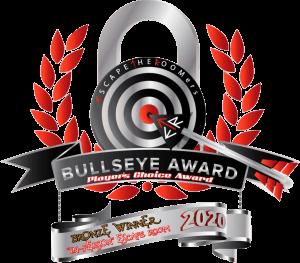Bullseye Bronze Award